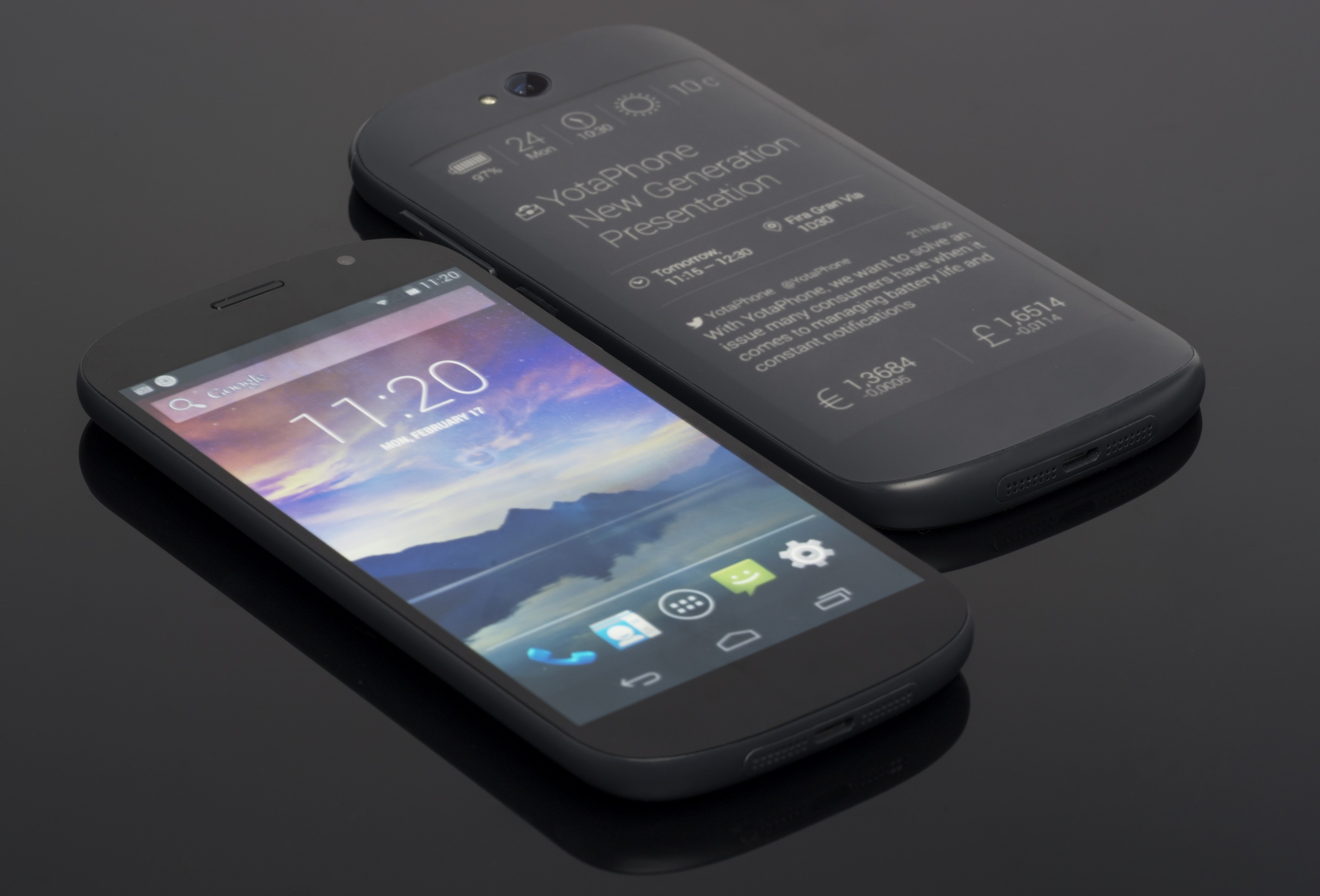 yotaphone backdoor