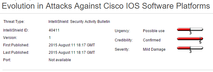 attacks on cisco rommon