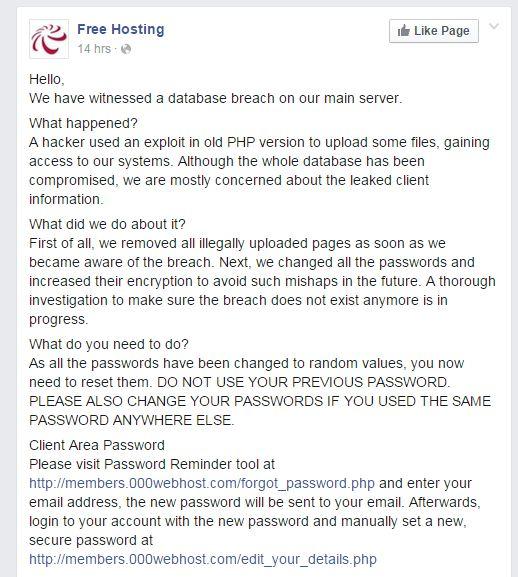 000webhost hack