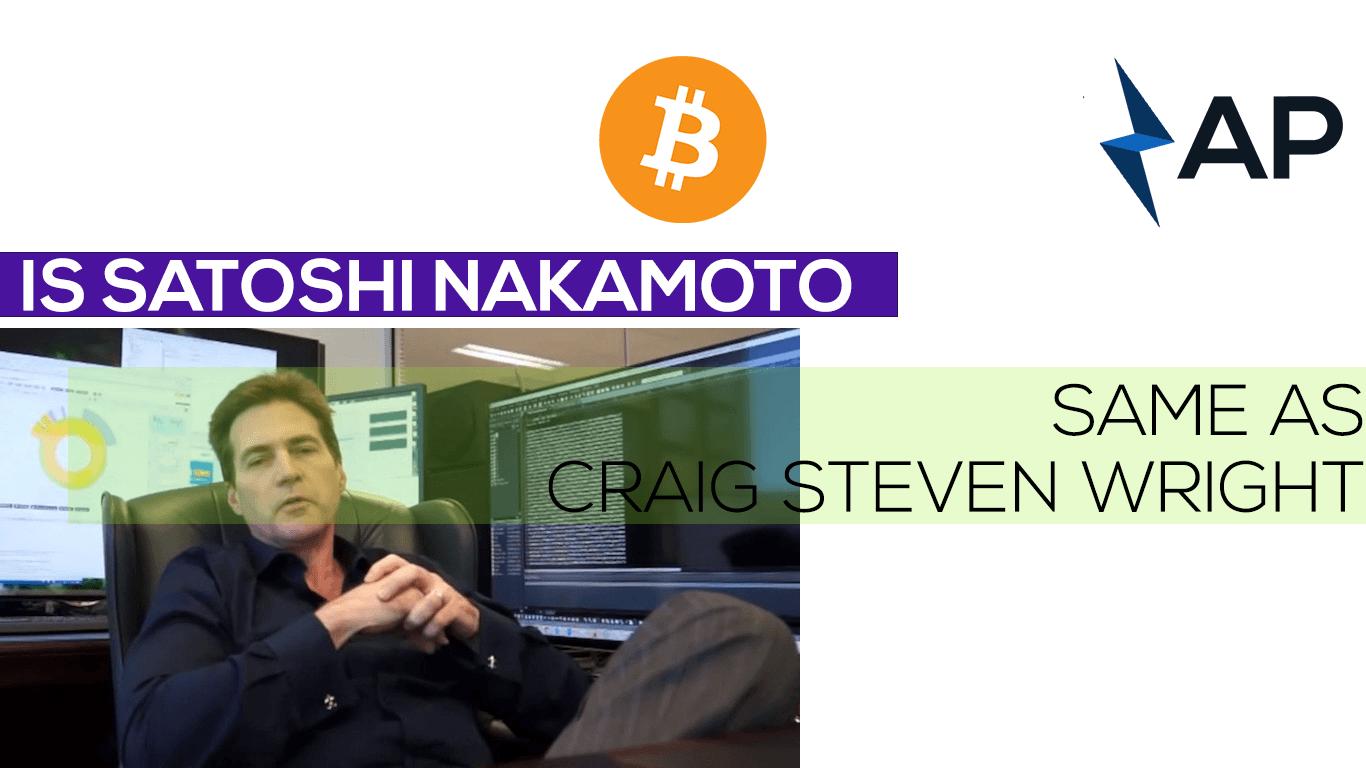 satoshi nakamoto craig steven wright bitcoin