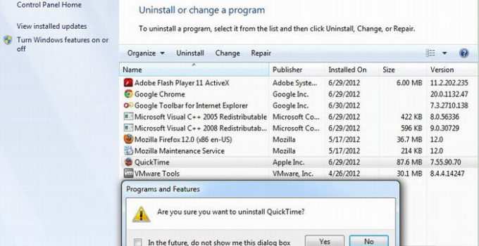 quicktime windows vulnerability
