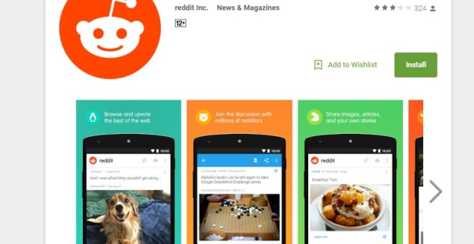 reddit official app android iphone