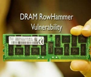 DRAM RowHammer Vulnerability
