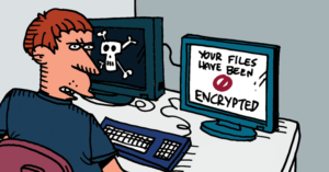 Ransomware targeting local files