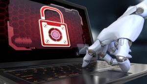 robot hand using a computer