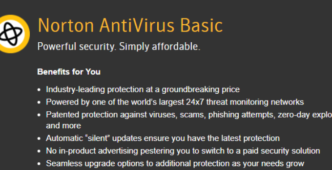 Symantec_Norton_antivirus_basic_homepage
