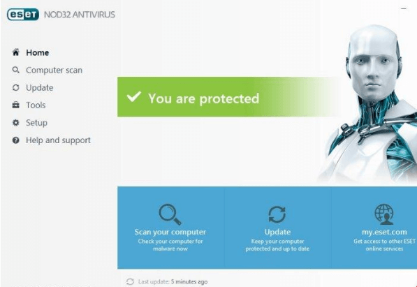 ESET_NOD32 ANTIVIRUS_10_main_window