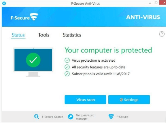 f-secure_anti-virus_main_window
