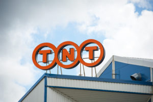 tnt logo top of roof