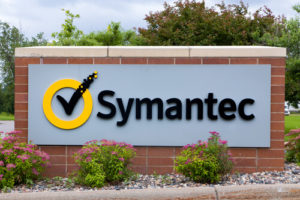 Symantec regional office sign