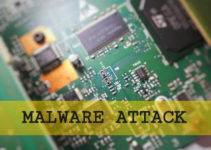 Computer electronic board circuit with word malware attack