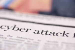 cyber attack on newspaper