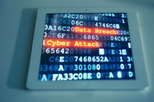 Cyber attack on a smart tablet