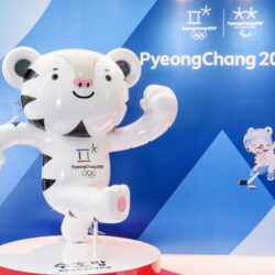 White tiger Soohorang is the official symbol of the 2018 Winter Olympics