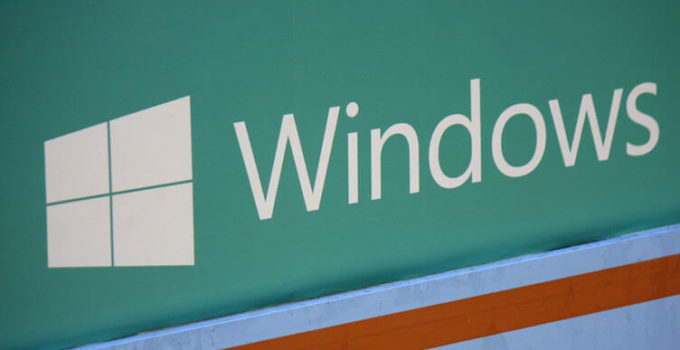 "the logo of the brand ""Microsoft Windows"", Berlin."