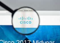 Cisco website homepage. It is an American multinational that develops and sells networking hardware and other high-technology services and products. Cisco logo visible.