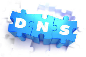 Domain Name System - White Word on Blue Puzzles.