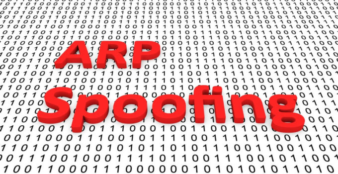 RP Spoofing as a binary code 3D illustration